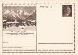 Entier Illustre Neuf 1942 Oberstdorf 41-190-1-B 6 - Alemania