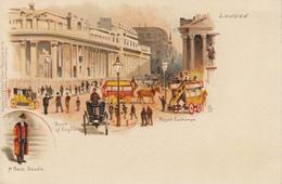LONDRES  Bank Of England  Royal Exchange - Londres