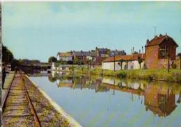CP 02 Aisne - St QUENTIN, Le Canal, Cp N° 0225/17 (cachet Poste) - Saint Quentin