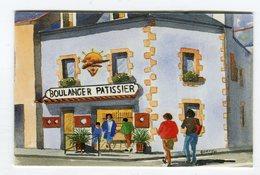 CdV °_ Boulanger-56-Quiberon-F&F Bihan - Cartoncini Da Visita