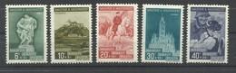 HUNGRIA  YVERT   519/23     MH  * - Unused Stamps