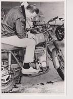 Monark M72 Prototype +-12cm X 17cm  Moto MOTOCROSS MOTORCYCLE Douglas J Jackson Archive Of Motorcycles - Other