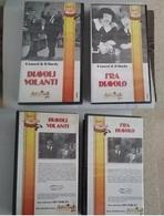 Lotto 2 Videocassette VHS Stalio E Ollio - Comedy