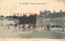 27 ☺♦♦ LOUVIERS - PLACE Du CHAMP De VILLE - HOTEL Du BRAS D'OR G. DELAMARE - Louviers