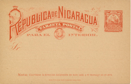 NICARAGUA - TARJETA POSTAL - Nicaragua