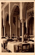 "ALGER HOTEL TRANSATLANTIQUE ""L'ALGERIA"" UN COIN DE LA SALLE A MANGER - Algeria"