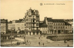 CPA - Carte Postale - Belgique - Bruxelles - Porte Flandre ( HB10960) - Prachtstraßen, Boulevards