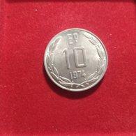 Cile 10 Pesos 1974 - Chile
