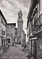 PIOMBINO - LIVORNO - CORSO ENGELS - MUNICIPIO - BAR CON INSEGNA PUBBLICITARIA BIRRA PERONI A TAPPO - TABACCHERIA - Livorno