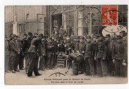 JEUX * SOLDATS DE PARIS *MILITAIRE *CERCLE NATIONAL * - Postales