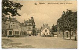 CPA - Carte Postale - Belgique - Bruxelles - Boitsfort - Place Bisschoffsheim ( HB10963) - Watermael-Boitsfort - Watermaal-Bosvoorde