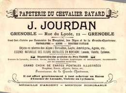 [38] Isère > Grenoble / PAPETERIE DU CHEVALIER  BAYARD  /J.JOURDAN   /LOT 3025 - Grenoble