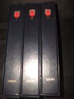 Album Davo Gibraltar Lot De 3 Albums Avec Emboîtage - Albums & Bindwerk