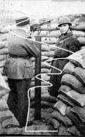 Négatif (grande Taille). Dunkerque. Mai 40 Mitrailleuse Antiaérienne De L'armée Française. - 1939-45
