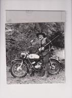 Hodaka100 +-17cm X 18cm  Moto MOTOCROSS MOTORCYCLE Douglas J Jackson Archive Of Motorcycles - Other