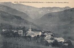 CPA - Bellecombe En Bauges - Le Chef Lieu - Le Charbon ( 1919 M ) - Autres Communes