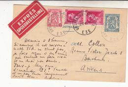 Carte   1941   EXPRESS - Postwaardestukken