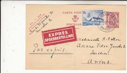 Carte   1939   EXPRESS - Postwaardestukken