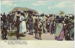 Namibie  Deutsch Sudwest Afrika  Essenausgabe In Gefangenenlager  Carl Muller  Hoftr Altenburg Allemagne - Namibie