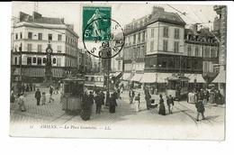 CPA-Carte Postale-France-Amiens- Place Gambetta -1908 VM10798 - Amiens