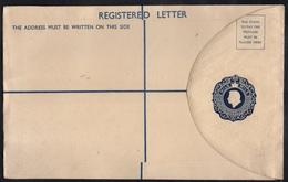 CHYPRE - CYPRUS - QE / ENTIER POSTAL POUR LETTRE RECOMMANDEE (ref 6225c) - Cyprus (...-1960)