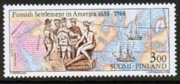 1988 Finland, New Sweden In America ** - Finland