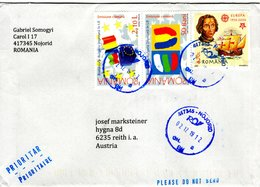 Auslands - Brief Von 417345 Nojorid Mit 7,30 L Schöner Mischfrankatur 2019 - Cartas