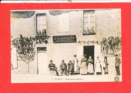 14 CAIRON Photo D ' Une Cpa Restaurant LAPORTE  * Format 14 Cm X 9 Cm - France