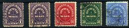 Estados Unidos (Servicio) Nº 93, 95/7. Año 1911 - Otros