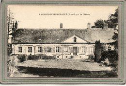 CPA - (62) - LEPINE-PUITS-BERAULT - Aspect Du Château Dans Les Années 20 - Other Municipalities