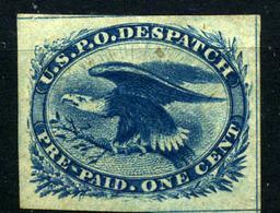 Estados Unidos (Carriers) Nº 2. Año 1851 - Stati Uniti