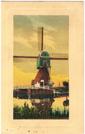 Kunst-AK Windmühle 1911 - Moulins à Vent