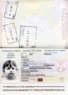 PASSPORT - CHILDREN BIOMETRICAL SERBIA - Documenti Storici
