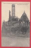 CPA-02- VAILLY-sur-AISNE - Restaurationn De L'Eglise*  2 SCANS *** - Altri Comuni