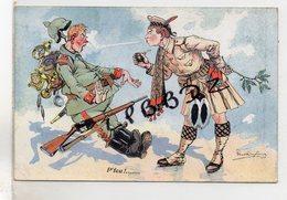 CPA - MILITARIA - Illustrateur Dufresne - P'Feu ! - Guerre 1914 - 1918 - Voir Description - Guerre 1914-18