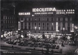 FIRENZE - PIAZZA REPUBBLICA - NEGOZIO FOTO LOCCHI - INSEGNA BIRRA PERONI / CINZANO / IDROLITINA / ACQUA PANNA / ZUCCA - Firenze