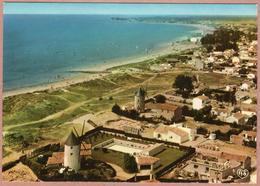 85 / ILE De NOIRMOUTIER - Les 3 Moulins à Vent De La Guérinière Et Le Littoral - Vue Aérienne - Noirmoutier