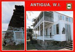 1 AK Antigua * Nelson's House At English Harbour - Eine Historische Hafenanlage - Seit 2016 UNESCO Weltkulturerbe * - Antigua & Barbuda