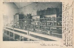 Lille Catho Hei Laboratoire De Teinture Dos Simple Rare TBE - Lille