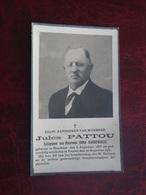 Jules Pattou - Vandewalle Geboren Te Houthem 1853 En Overleden Te Veurne 1931   (2scans) - Religion & Esotérisme