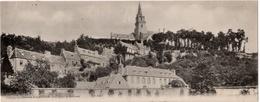 Lannion : Carte Panoramique Double Format : L'église De Brélévenez (Ets Neurdein Frères, Paris, ND Phot) - Lannion