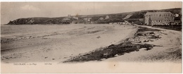 Trestaou : Carte Panoramique Double Format : La Plage (Ets Neurdein Frères, Paris, ND Phot N°2923) - Autres Communes