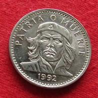 Cuba 3 Tres Pesos 1992 KM# 346a Che Guevara Kuba - Cuba