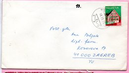 Letter - 18.10.1976., Switzerland (Helvetia) - Svizzera