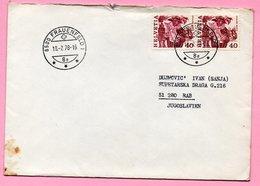 Letter - Stamp Escalade Geneve / Postmark Frauenfeld, 18.7.1978., Switzerland (Helvetia) - Svizzera