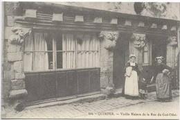 QUIMPER : Vieille Maison De La Rue Du Gué-Odet - Quimper