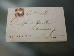 D.PEDRO V -MARCOFILIA - ALCOBAÇA - 1855-1858 : D.Pedro V