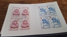 LOT 484488 TIMBRE DE FRANCE PREMIER JOUR  CARNET CROIX ROUGE 1960 - Croix Rouge
