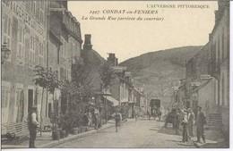 CONDAT En Feniers : Arrivée Du Courrier La Grande Rue - Condat