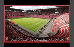 CP.STADE DE FOOTBALL. RENNES *35*  FRANCE  ROAZON    PARK  # S.054 - Fútbol